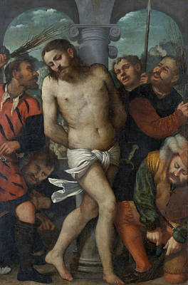 Painting - The Flagellation by Treasury Classics Art