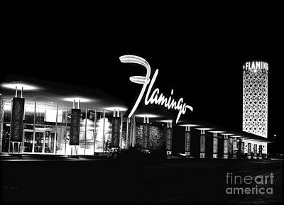 Birds Royalty-Free and Rights-Managed Images - The Flamingo Hotel, Las Vegas. by The Titanic Project