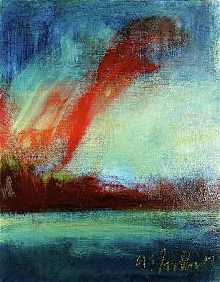 Painting - The Flare by Les Leffingwell