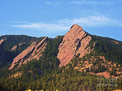 Photograph - The Flat Irons II by Donna Greene