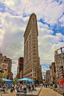 The Flatiron Building Art Print by Allen Beatty