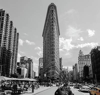 Photograph - The Flatiron Building New York by Andy Myatt