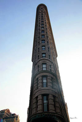 Art Print featuring the photograph The Flatiron - Manhattan by Madeline Ellis