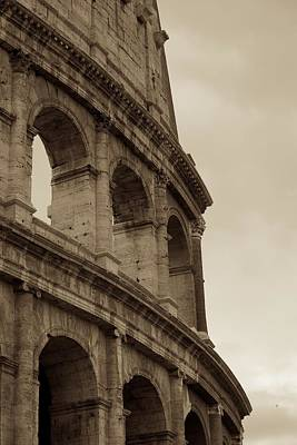 Photograph - The Flavian Amphitheatre  by Eric Tressler