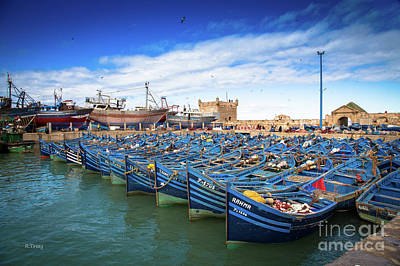 Photograph - The Fleet Of Essaouira by Rene Triay Photography