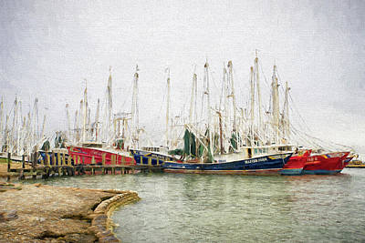 Photograph - The Fleet by Victor Culpepper