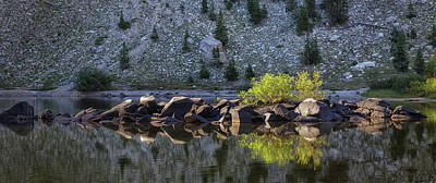 Grace Kelly - The Floating Rock Island by Mitch Johanson