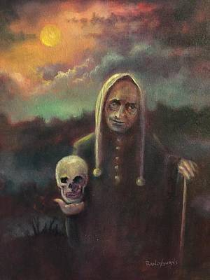 The Floating Skull Original