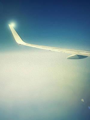 Digital Art - The Floating Wing by Alfio Finocchiaro