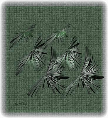 Digital Art - The Flock by Iris Gelbart