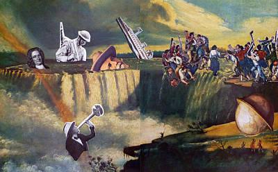Crisis Mixed Media - The Flood Of 2008 by Tom Calderon