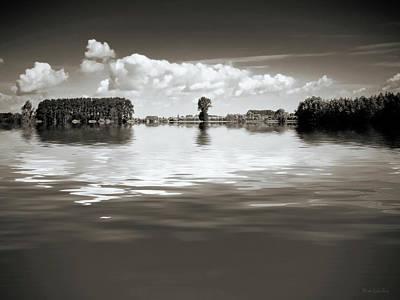 Photograph - The Flood by Wim Lanclus