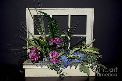 Photograph - The Floral Box by Jeannie Rhode