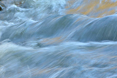 Photograph - The Flow 3 by Fraida Gutovich