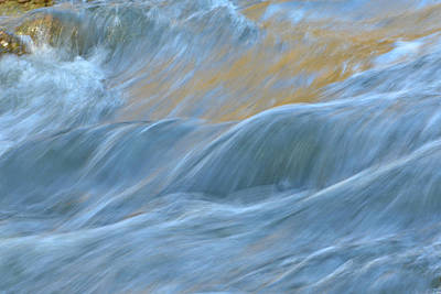 Photograph - The Flow 4 by Fraida Gutovich