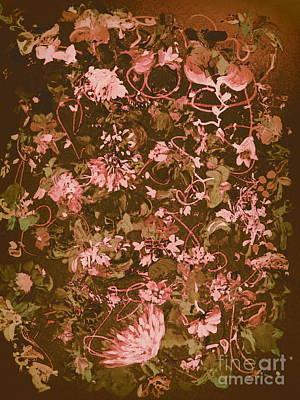 Digital Art - The Flower Bed 2 by Nancy Kane Chapman