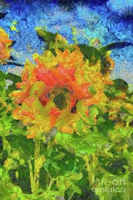 Abstract Flowers Royalty-Free and Rights-Managed Images - The Flower by Tito by Tito