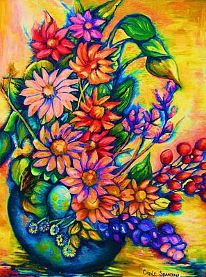 Painting - The Flower Dance by Carole Spandau