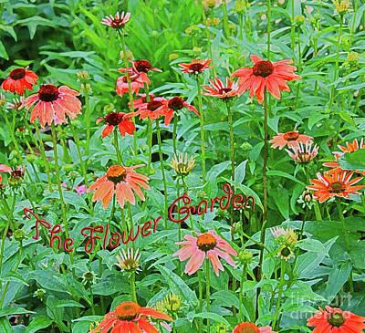 Photograph - The Flower Garden by Barbara Dean