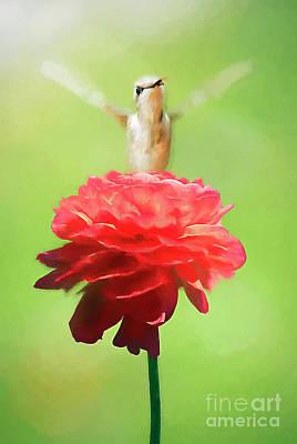 Photograph - The Flower Goddess by Darren Fisher
