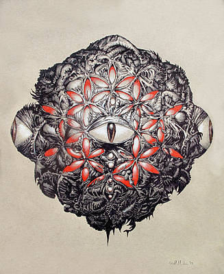The Flower Of Life Art Print by Will Shanklin