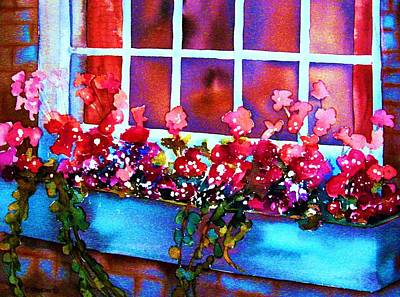 Painting - The Flowerbox by Carole Spandau