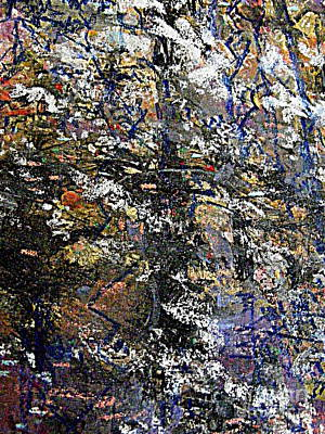 Mixed Media - The Flowering Tree 2 by Nancy Kane Chapman