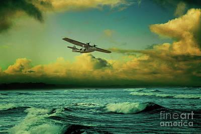 The Flying Boat Art Print