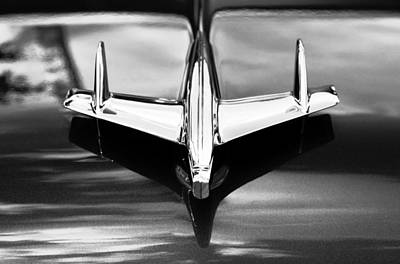 Antique Automobiles Photograph - The Flying Chevy by David Lee Thompson