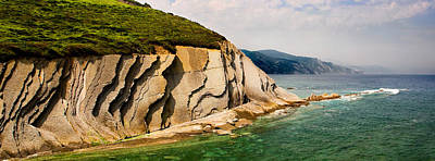 Photograph - The Flysch From The Kt Boundary In Zumaia No1 by Weston Westmoreland