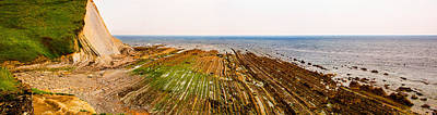 Photograph - The Flysch In Low Tide by Weston Westmoreland