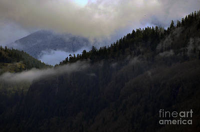 Photograph - The Fog Descends On Sumas by Clayton Bruster