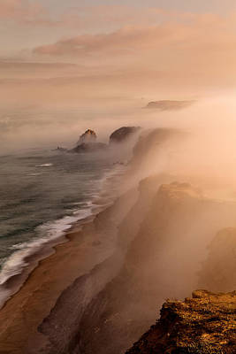 Scenic Photograph - The Fog by Jorge Maia