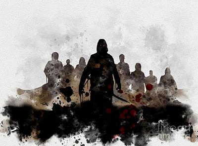 Blake Mixed Media - The Fog by Rebecca Jenkins
