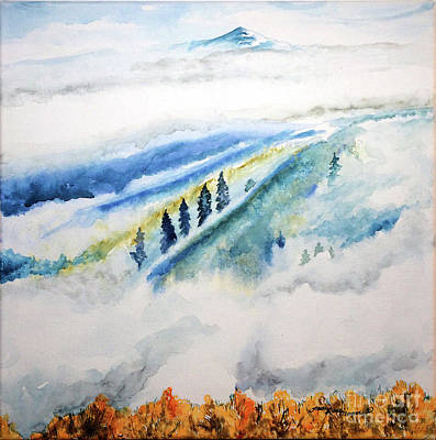 Painting - The Fog by Tracy Rose Moyers