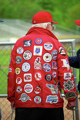 Photograph - The Folks - A Baseball Fan 1 by Frank Romeo