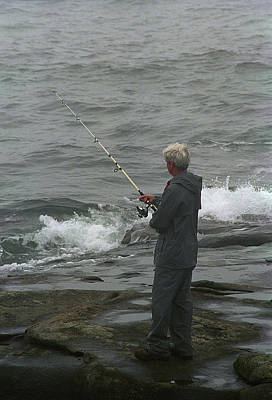 Photograph - The Folks - Fishing 2 by Frank Romeo