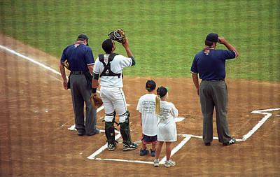 Photograph - The Folks - Minor League Baseball 1 by Frank Romeo