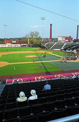 Photograph - The Folks - Minor League Baseball 3 by Frank Romeo