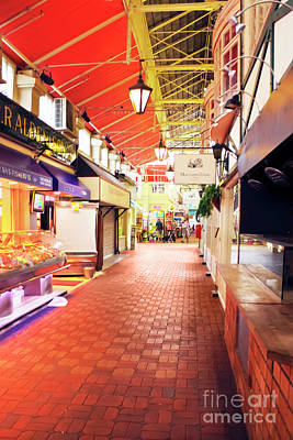 Photograph - The Food Hall Oxford Covered Market by Terri Waters