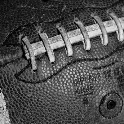 Footballs Closeup Photograph - The Football 2 by David Patterson