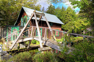 Photograph - The Footbridge At Palmer Point by David Patterson
