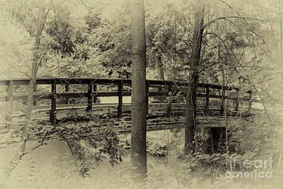 Photograph - The Footbridge by William Norton