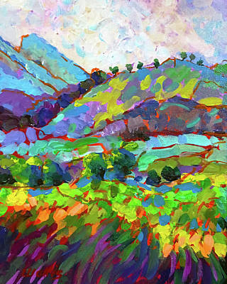 Wall Art - Painting - The Foothills by Charles Wallis