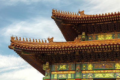 Photograph - The Forbidden City II by Erika Gentry