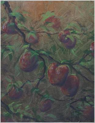 The Forbidden Fruit Art Print by Kenneth McGarity