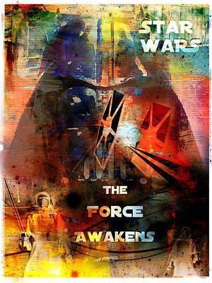 Photograph - The Force Awakens Fan Art Poster by Aurelio Zucco