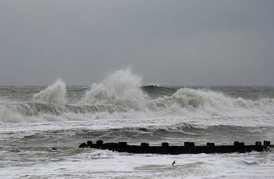 Bay Head Beach Photograph - The Force Of Nature - Jersey Shore by Angie Tirado