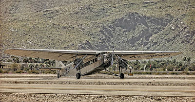 Ford Trimotor Photograph - The Ford Trimotor by Sandra Selle Rodriguez
