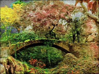 The Forest Bridge  Original by Daniel Arrhakis